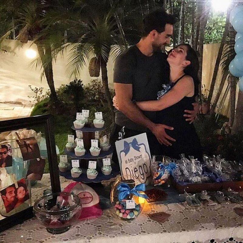 La pareja de actores está feliz y emocionada ante la llegada de su bebé.