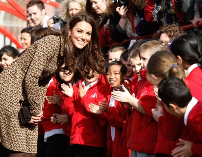 La Duquesa de Cambridge pasó un día muy divertido al lado de los niños.