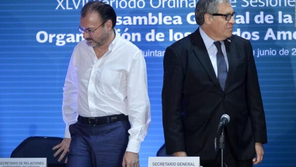 Primera reunión de cancilleres de la OEA no logró consenso en el tema Venezuela