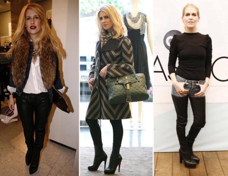 Eugenia Debayle. Fundadora de TheBeautyEffect.com y directora creativa de Fashion Box. Edad: 41 años.