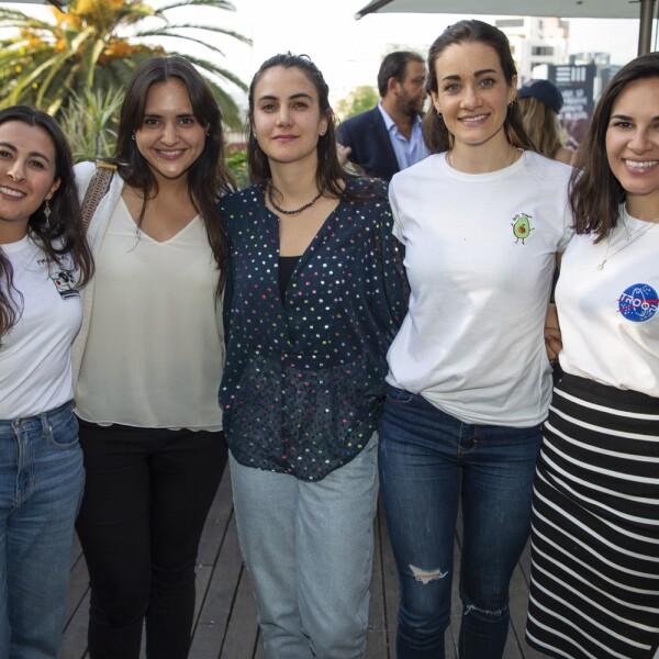 Claudia Parra, Carla Chavez, Celeste Tascher, Andrea Alarxon, Maria Jose Perez