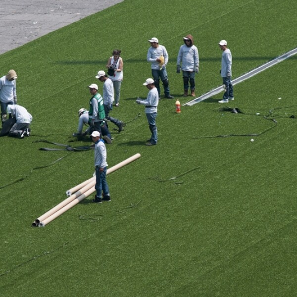 Zócalo instalación beisbol 3