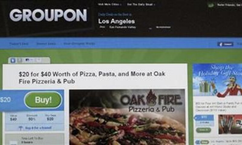 El negocio de descuentos de Groupon se desacelera en  Norteamérica. (Foto: Reuters)