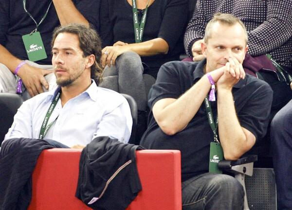 Nacho Palau  y Miguel Bosé