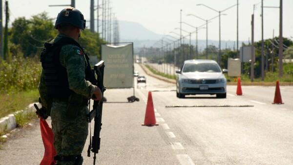 Militares en Culiacán