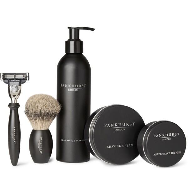Shaving Set, Pankhurst London.