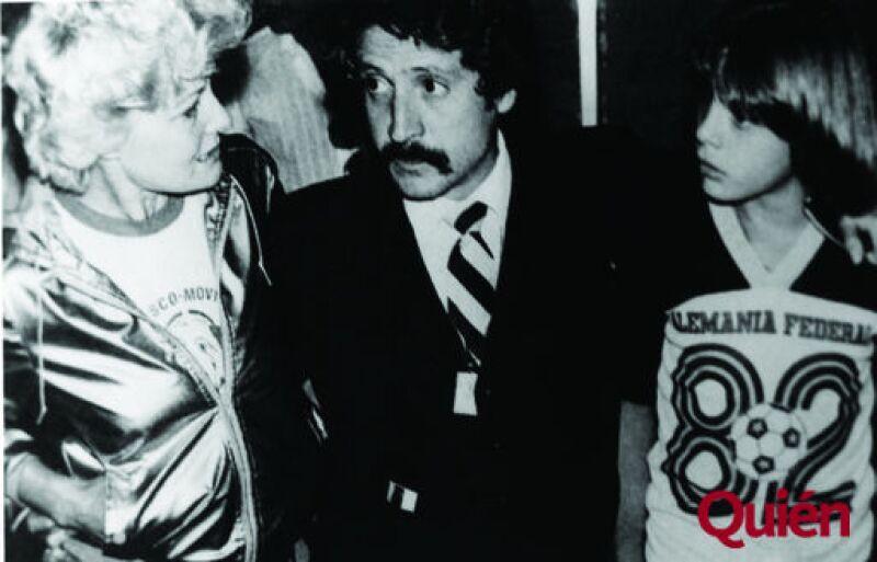 Marcella Basteri, Luis Rey, Luis Miguel