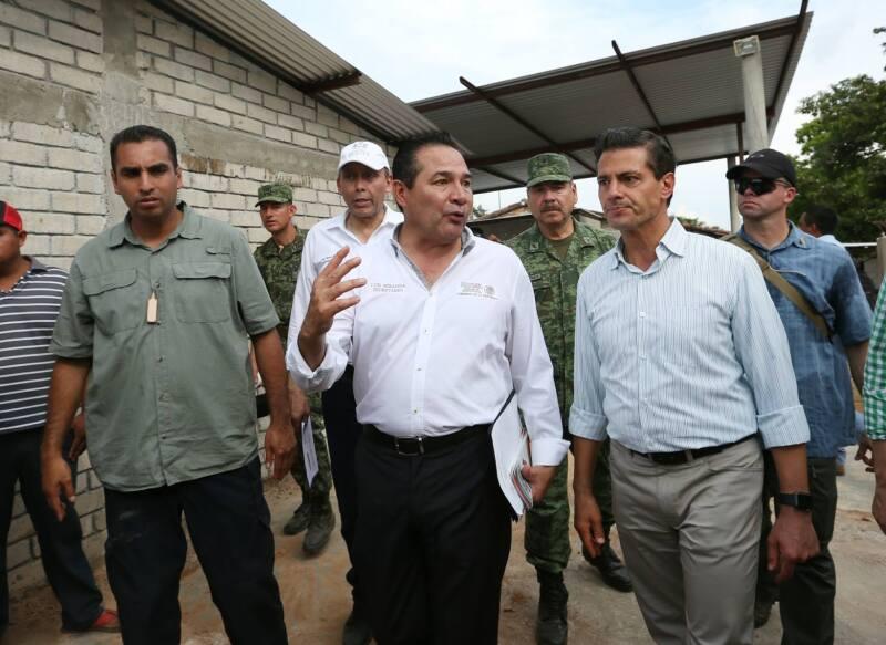 Luis Miranda y Enrique Peña Nieto