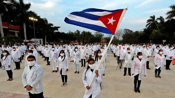 Médicos cubanos