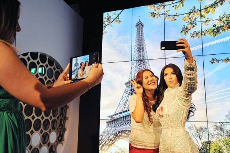 Fánaticos aprovecharon para tomarse selfie