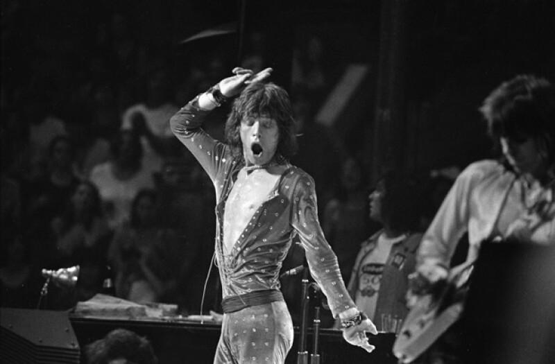 Mick Jagger en 1972.