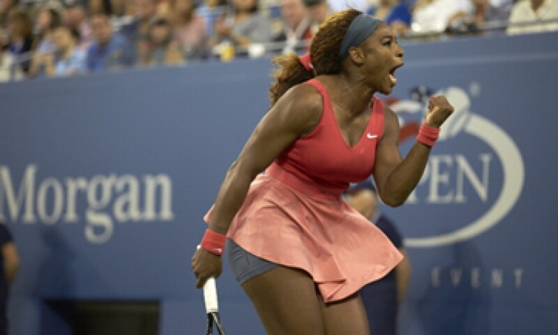 La tenista vaciló sobre su estilo de juego en los primeros dos sets en la final contra Victoria Azarenka. (Foto: Getty Images)
