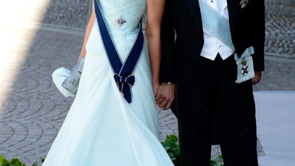 El príncipe Nicolás de Grecia y su esposa, Tatiana.
