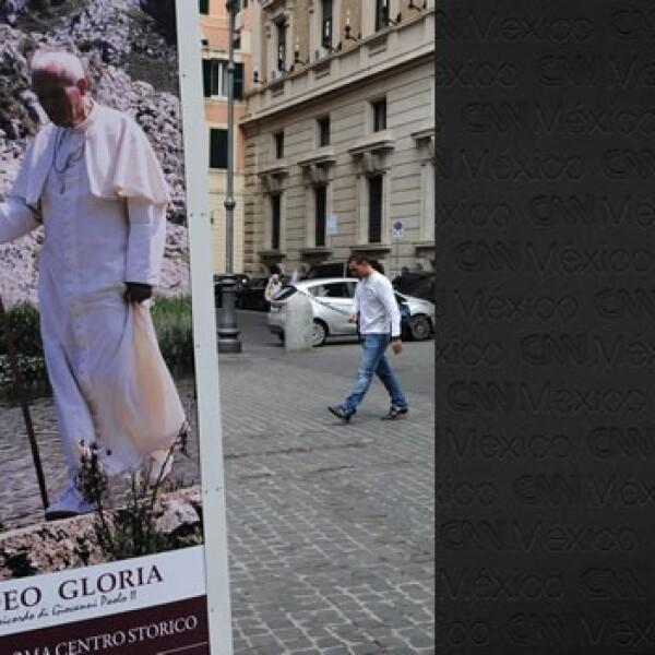 Juan Pablo II - poster papa peregrino