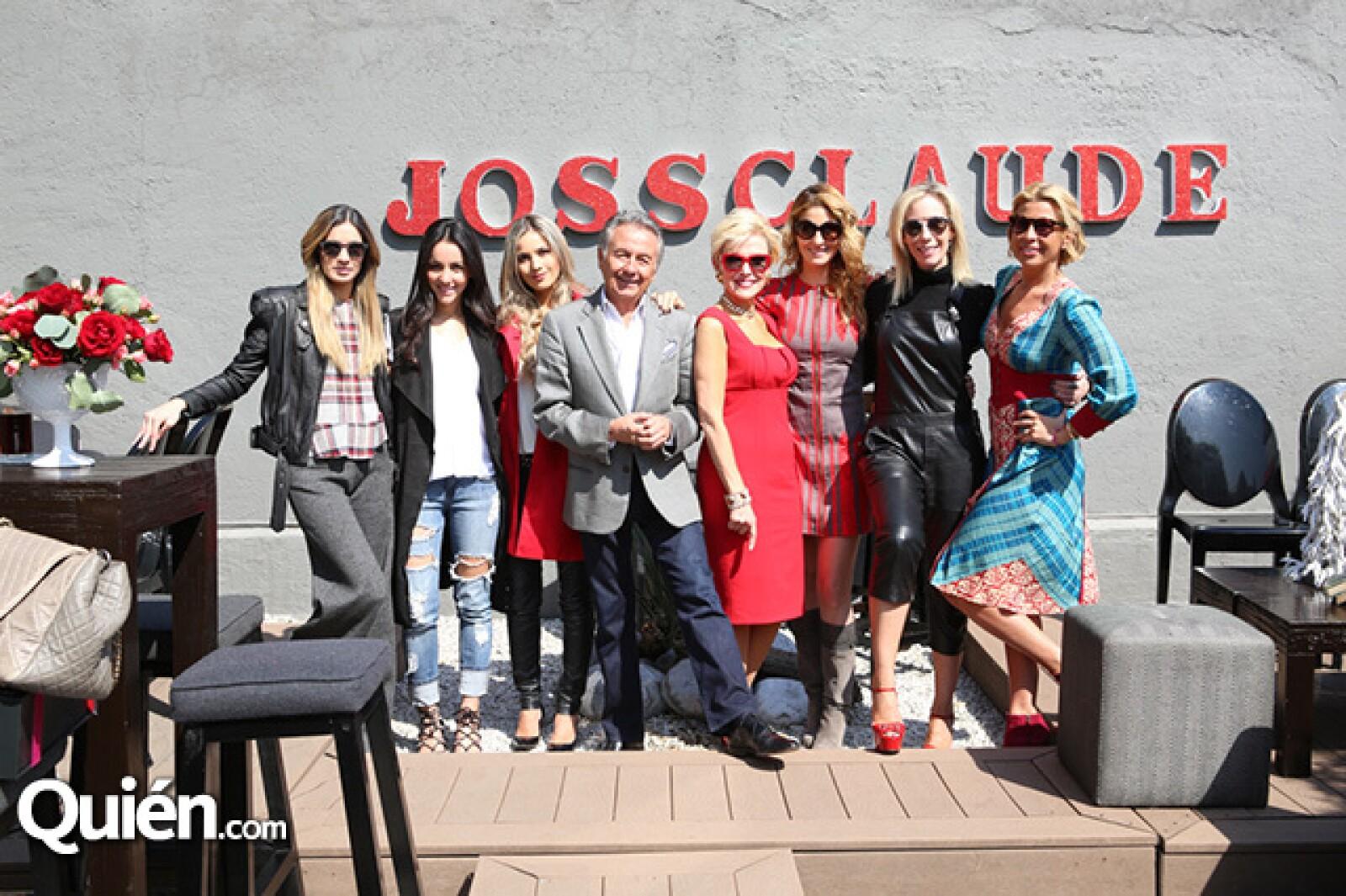 Andrea Wade,Chantal Andere,Pamela Cortes,Claude Joanin,Raquel Bessudo,Marcela Cuevas,Brenda Jaet y Beatriz Pasquel