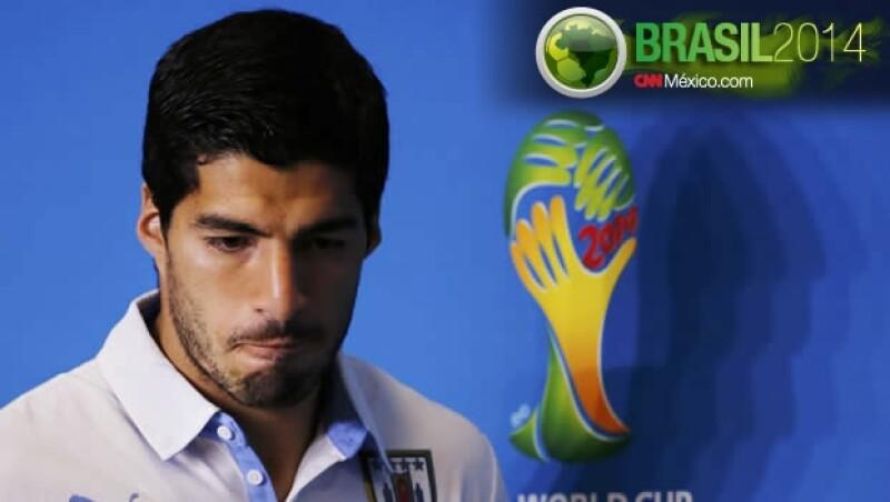 Luis Suárez Uruguay Brasil