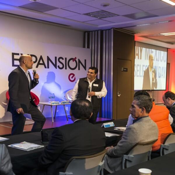 Representantes de las cinco startups mexicanas fueron elegidas este jueves durante un evento en Grupo Expansión.