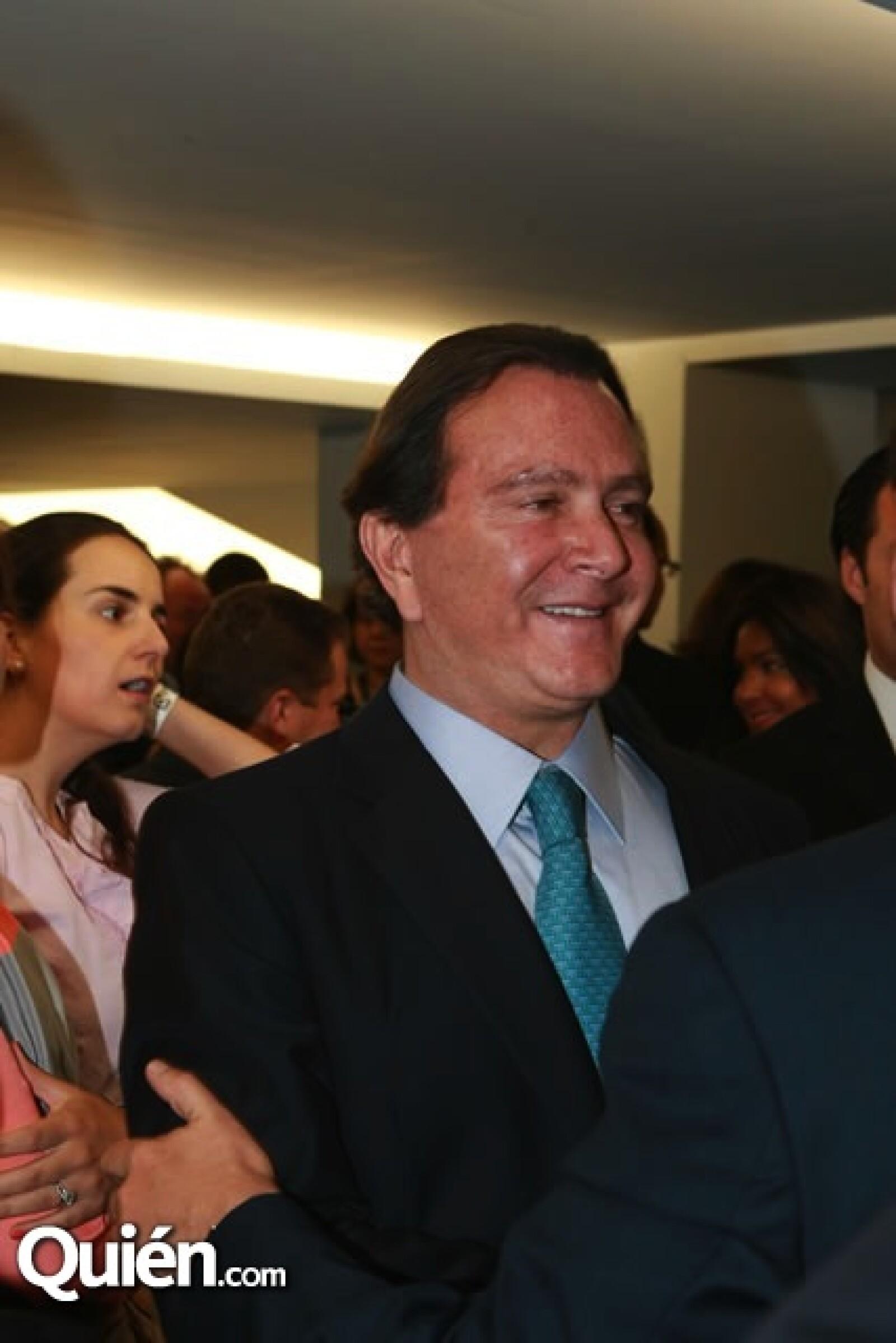 El periodista Óscar Mario Beteta