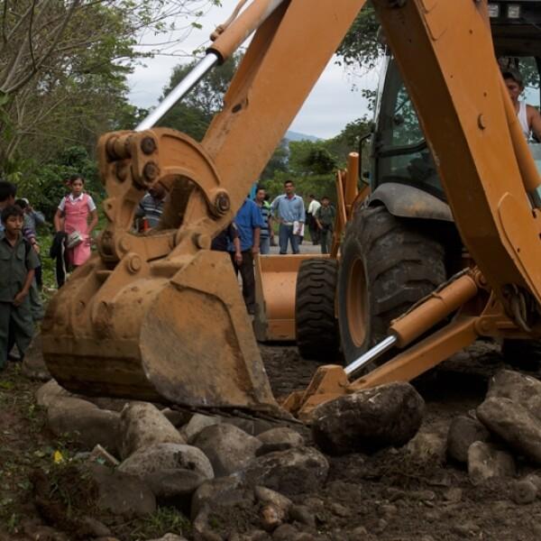 colapso en la carretera pichucalco-teapa