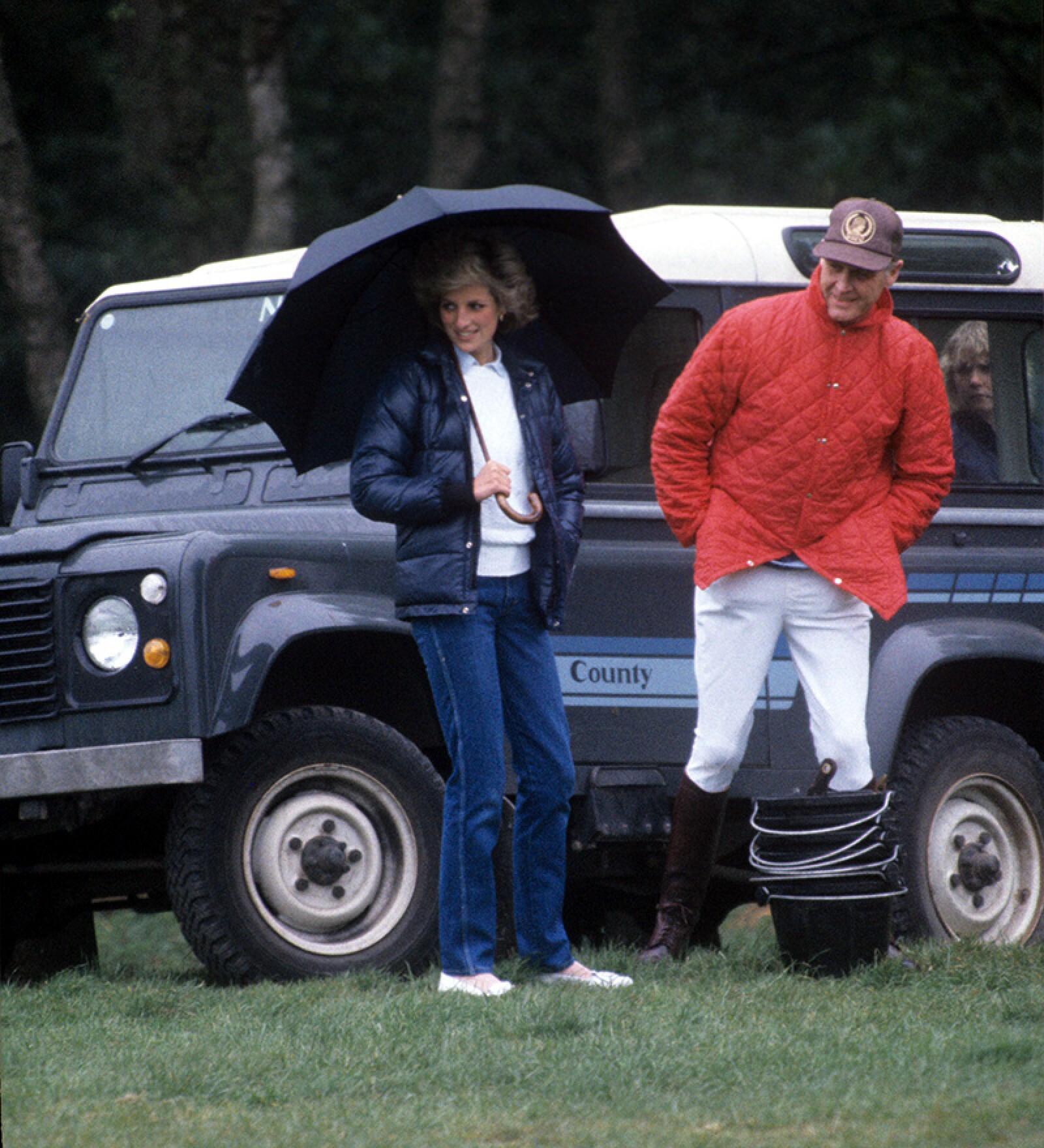Royals at Windsor, Berkshire, Britain - 1985