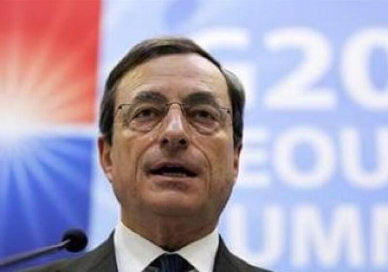 Alemania también podrá mostrar su apoyo a Mario Draghi para ocupar el puesto de titular en el BCE.  (Foto: Reuters)