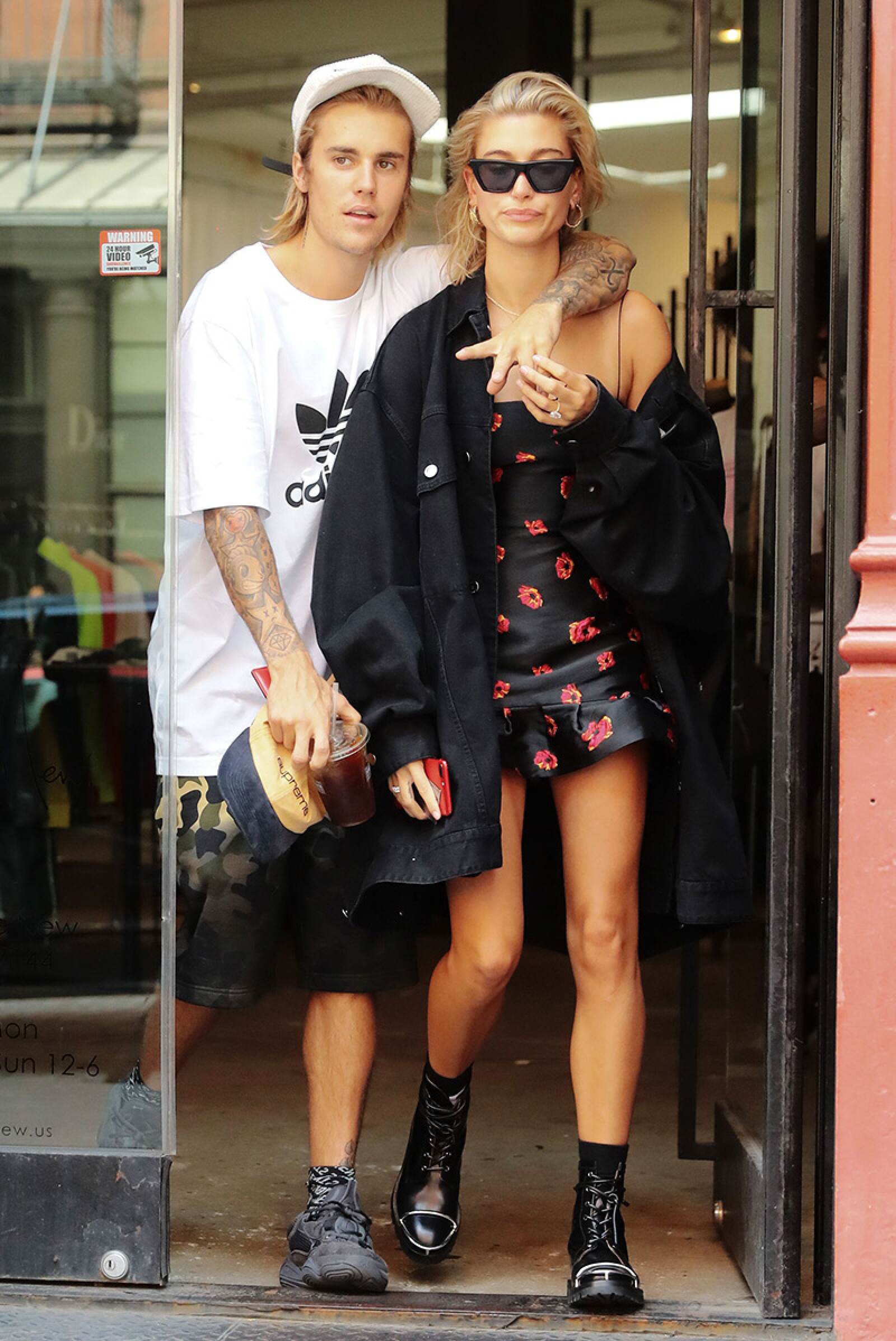Justin Bieber  out and about, New York, USA - 27 Jul 2018