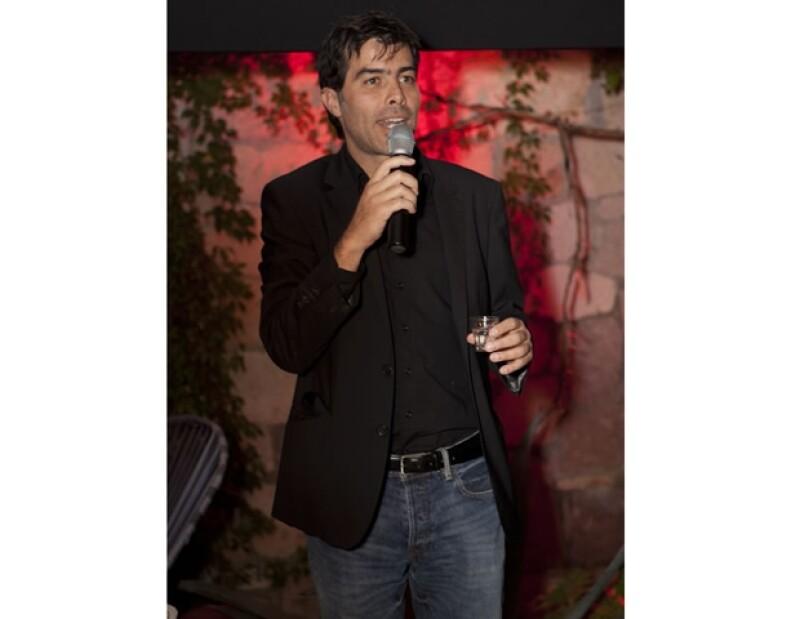 """Ricardo Giraldo, quien también ha sido parte fundamental en el proyecto """"Ambulante""""."""