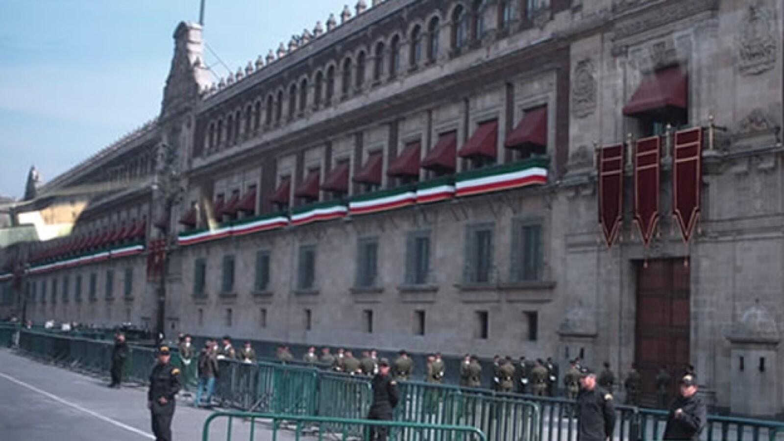 Palacio Nacional discurso EPN