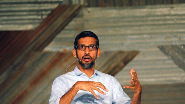 Sundar Pichai ceo google reu
