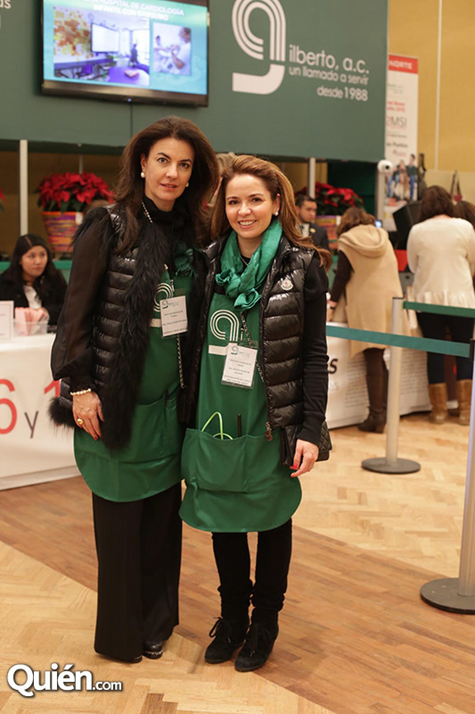 Teresa Cabal y Rosita Aguirre