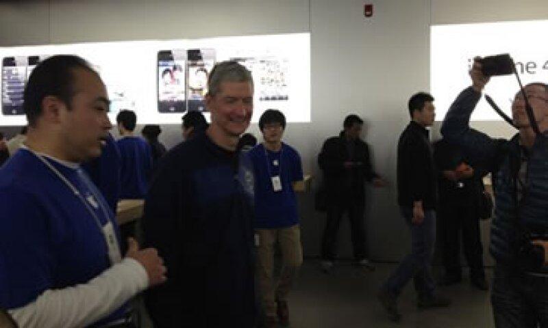 Apple ha estado perdiendo mercado frente a Samsung en el mercado chino de teléfonos inteligentes. (Foto: Reuters)