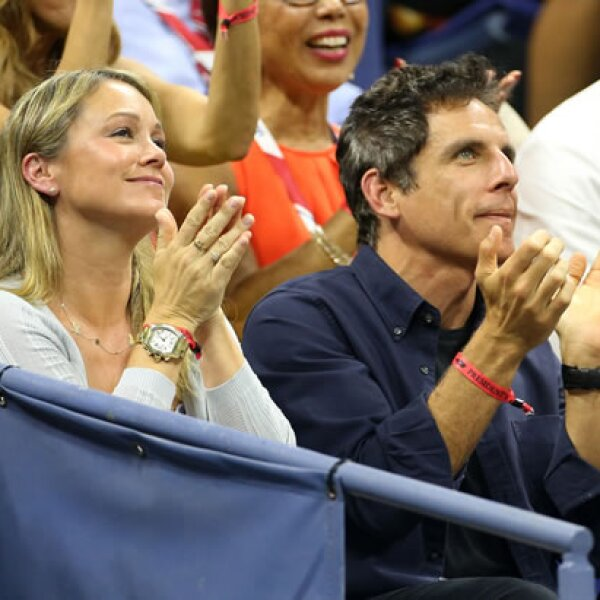 El actor Ben Stiller acudió acompañado de su esposa, la también actriz Christine Taylor.