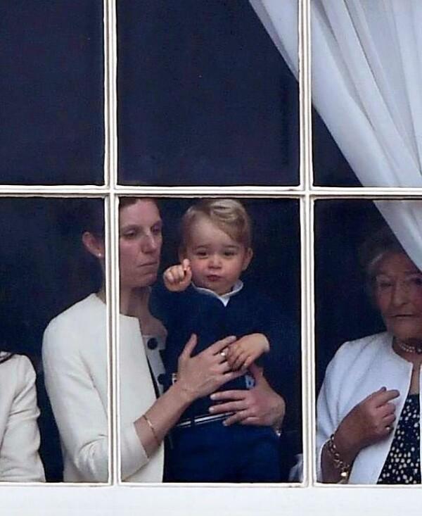 María Teresa Turrión y el príncipe George