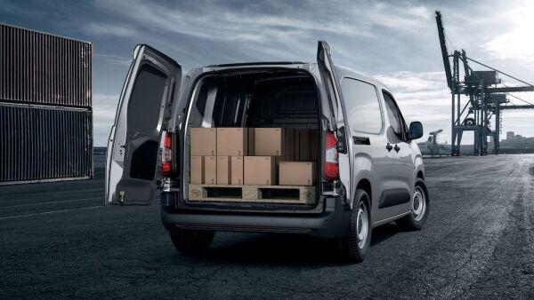 La nueva versión de Partner tendrá una capacidad de carga de hasta 1 tonelada. FOTO: Cortesía