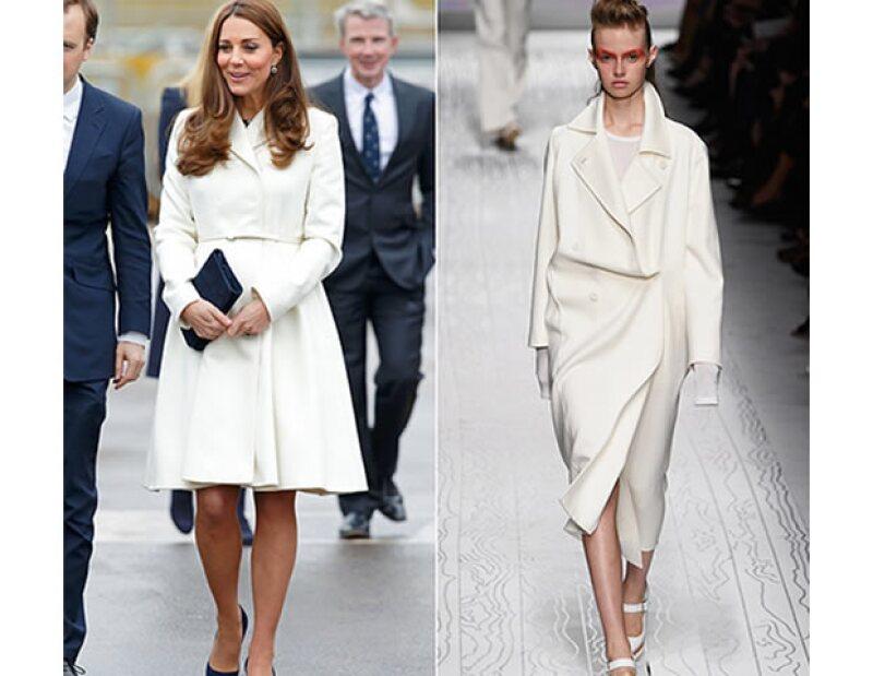 La futura reina ha demostrado tener especial gusto por los abrigos de la marca