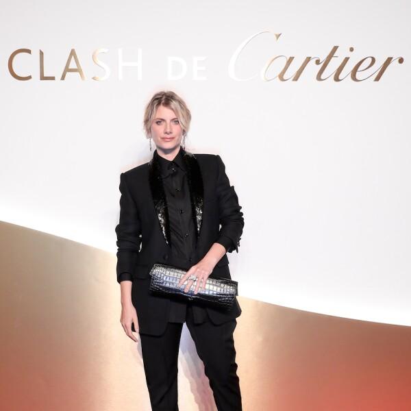 La actriz Melanie Laurent también estuvo presente