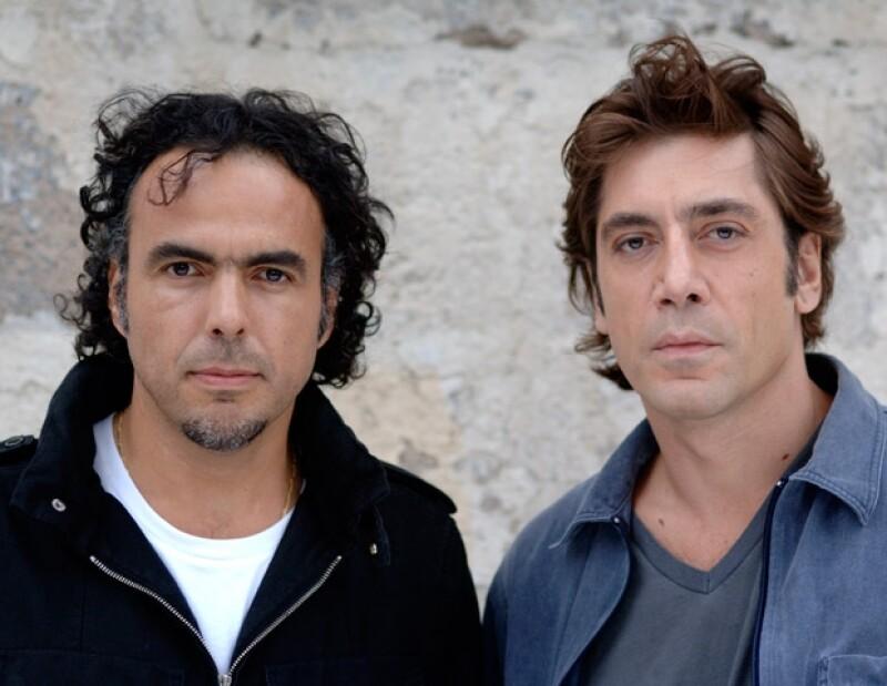 Alejandro González Iñárritu y Javier Bardem. El director mexicano fue nominado por esta cina y en 2001 también por Amores Perros como Mejor Película Extranjera en el Oscar.