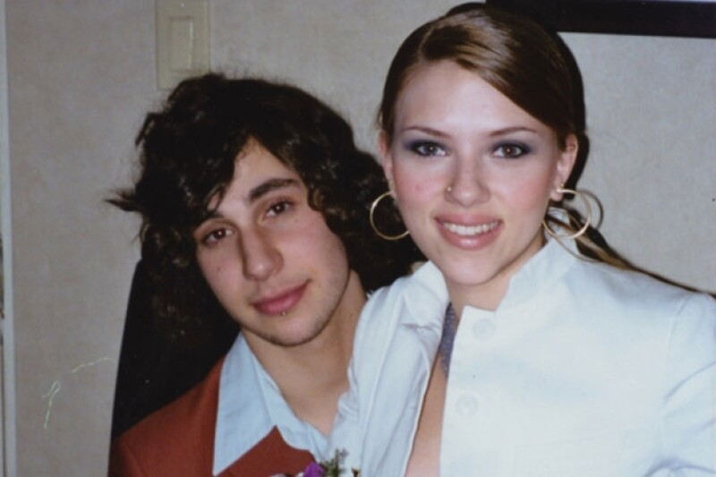 La actriz y el guitarrista tuvieron un tórrido romance durante su jeventud.