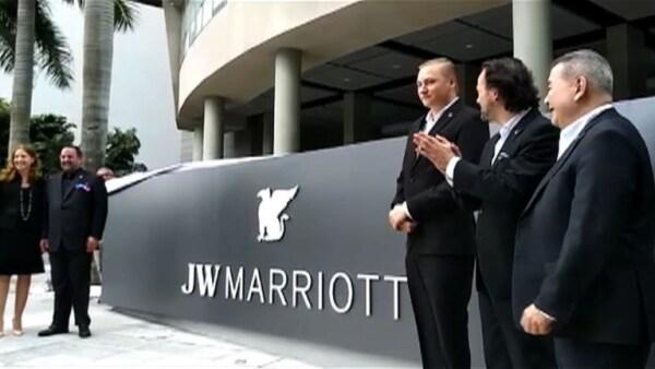 Marriott asume el control del hotel Trump en Panamá