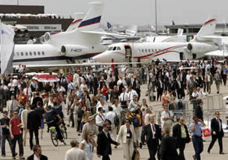 El Aerocluster Monterrey asistió por primera vez a la pasada edición del Air Show Paris. (Foto: AP)