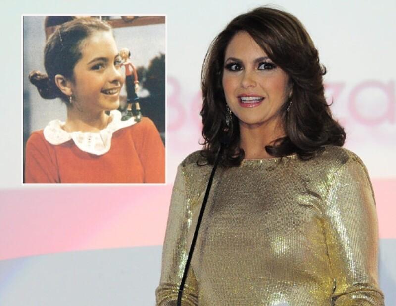 En Chiquilladas, Lucero interpretó a Olivia.
