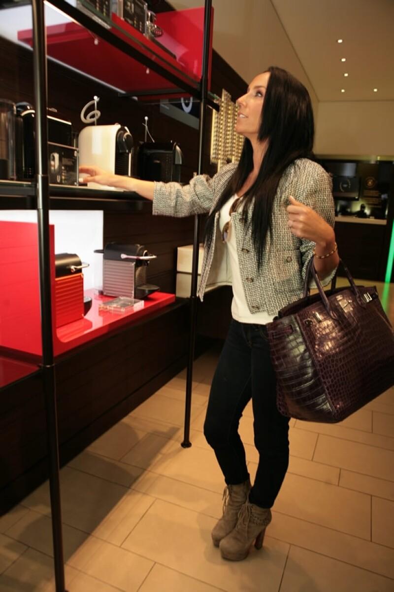 Las máquinas favoritas de Inés son la U&Milk y la Gran Maestría de Nespresso.