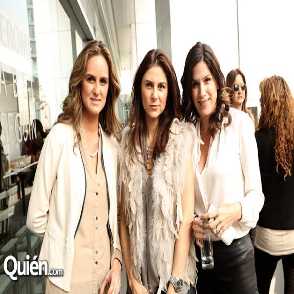Vanessa y Jessica Pliego con Mado Aglot