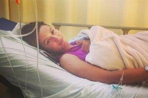 Esta fue la última fotografía que subió antes de ser diagnosticada en coma.