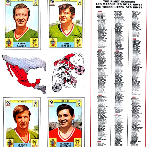 Panini Album México 1970