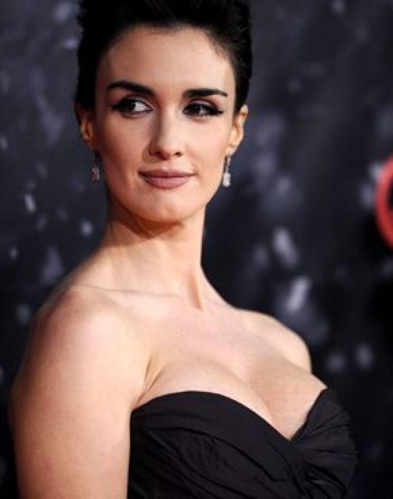La actriz española aseguró que se encuentra maravillosamente y que tiene propuestas cinematográficas para después del nacimiento de su hijo.