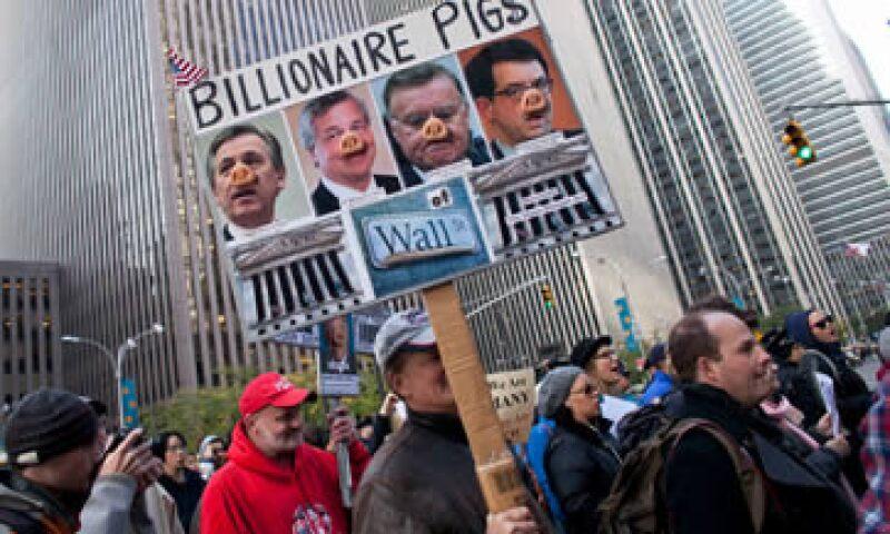 La protesta Ocupemos Wall Street en Nueva York dijo que ha gastado poco más de 50,000 dólares durante las primeras cinco semanas del movimiento. (Foto: Reuters)