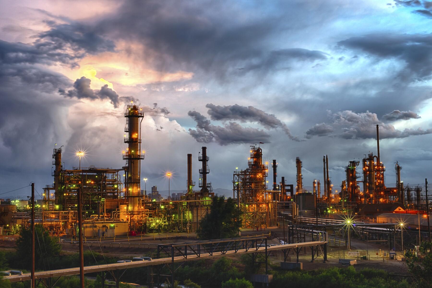 Denver Oil Refinery