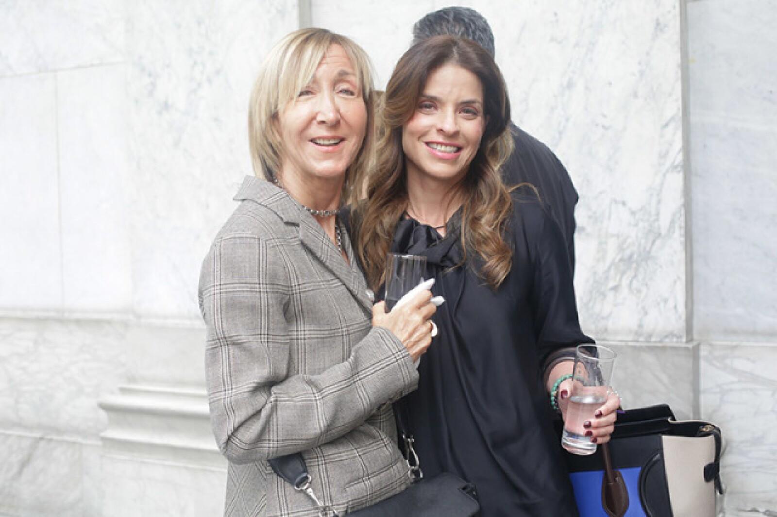 Patricia Marshall y Rossana Lerdo de Tejada