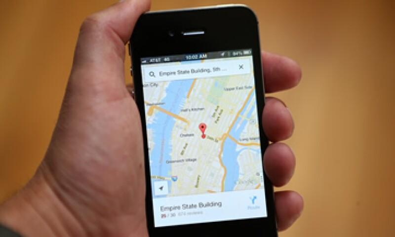 Foursquare, Bing Mapas y Apple Maps son algunos de los mapas que compiten por conquistar a los usuarios.   (Foto: AFP)